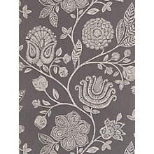 Buy Harlequin Bonita Trail Wallpaper, Steel, 110012 Online at johnlewis.com