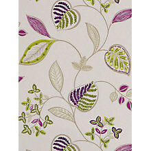Buy Harlequin Samara Wallpaper, Fennel/Cassis, 110040 Online at johnlewis.com