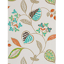 Buy Harlequin Samara Wallpaper, Orange/Turquoise, 110042 Online at johnlewis.com