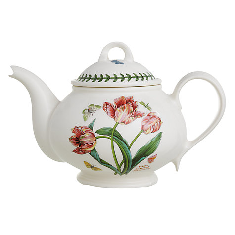 Buy Portmeirion Botanic Garden Tulip Teapot, 1.1L Online at johnlewis.com