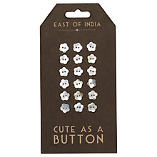 Buy East of India Flower Buttons Online at johnlewis.com