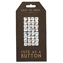 Buy East of India Square Buttons Online at johnlewis.com