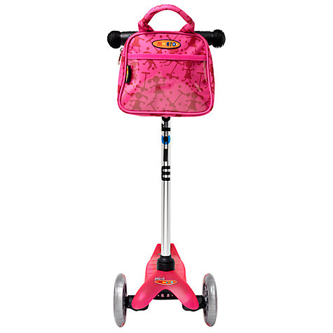Buy Micro Scooters Bag, Pink Online at johnlewis.com