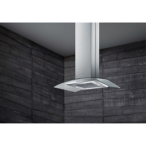 Buy Elica Circus HP Island Chimney Cooker Hood, Stainless Steel Online at johnlewis.com