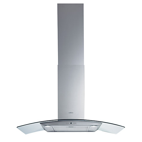 Buy Elica Circus 90HP Chimney Cooker Hood, Stainless Steel Online at johnlewis.com