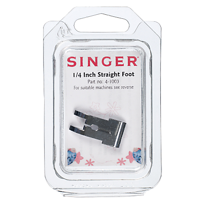 Singer 4-1003 1/4 Inch Straight Foot