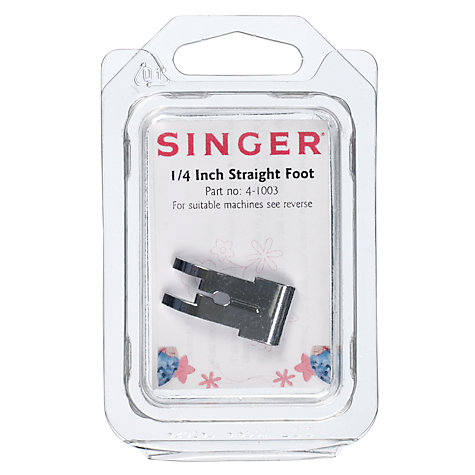 Buy Singer 4-1003 1/4 Inch Straight Foot Online at johnlewis.com