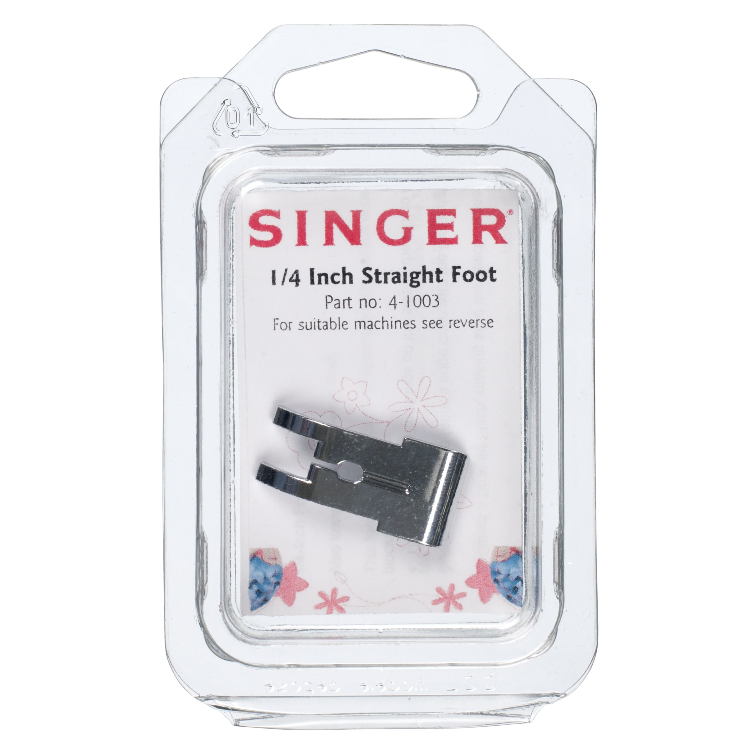 Singer Singer 4-1003 1/4 Inch Straight Foot