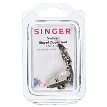 Buy Singer 4-1004 Vertical Hinged Zipper Foot Online at johnlewis.com