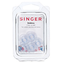 Buy Singer 4-1008 Bobbins, Pack of 5 Online at johnlewis.com