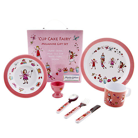 Buy Martin Gulliver Cupcake Fairy Dinner Set Online at johnlewis.com