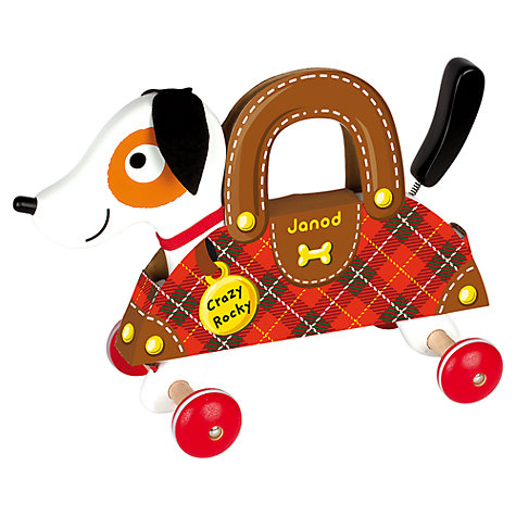 Buy Janod Crazy Rocky Dog Wooden Toy Online at johnlewis.com