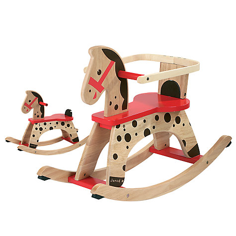 Buy Janod Caramel Rocking Horse Online at johnlewis.com
