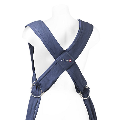 Buy Close Parent Caboo Carrier, Dark Denim Online at johnlewis.com