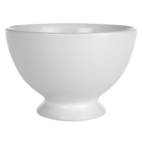 Buy Brissi Breakfast Bowl, Dia.15cm, White Online at johnlewis.com