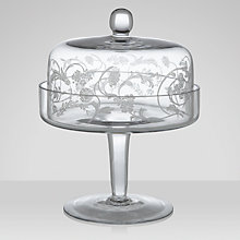 Buy Brissi Opera Cake Plate & Dome Online at johnlewis.com