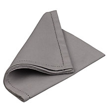 Buy Brissi Hemstitch Napkins Online at johnlewis.com