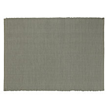 Buy Brissi Cotton Ribbed Placemats, Set of 4, Grey Online at johnlewis.com
