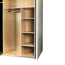 Buy John Lewis Vier Sliding Wardrobe Shelf Fitment Online at johnlewis.com