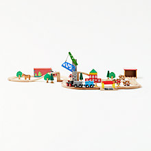 Buy John Lewis Wooden Train Set Online at johnlewis.com