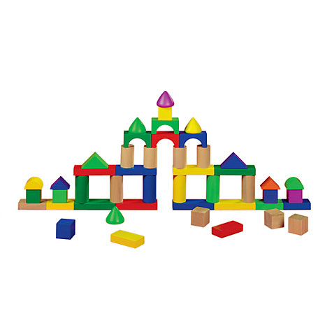 Buy John Lewis Building Blocks, 100 Pieces Online at johnlewis.com