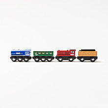 Buy John Lewis Engine and Truck Set Online at johnlewis.com