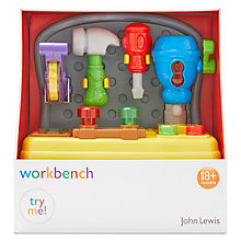 Buy John Lewis Workbench Playset Online at johnlewis.com