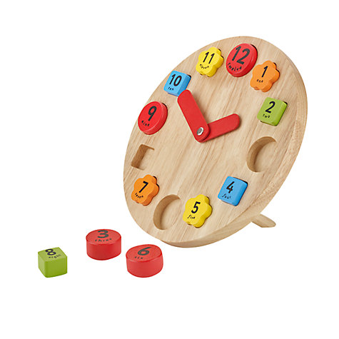 Buy John Lewis Teaching Clock Online at johnlewis.com