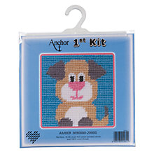 Buy Anchor First Cross Stitch Kit, Amber Online at johnlewis.com