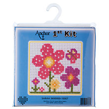 Buy Anchor First Cross Stitch Kit, Sarah Online at johnlewis.com