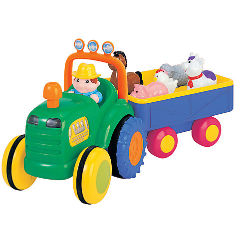 Buy John Lewis Tractor and Trailer Online at johnlewis.com