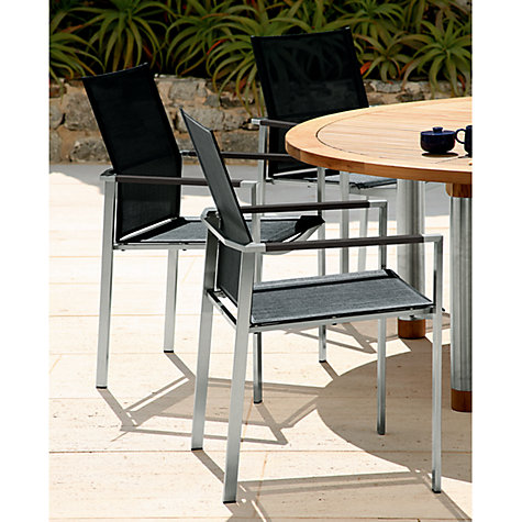 Buy Barlow Tyrie Mercury Outdoor Armchairs, Graphite Online at johnlewis.com