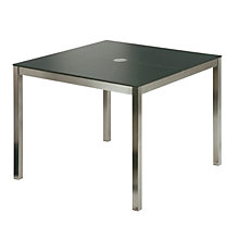 Buy Barlow Tyrie Equinox Square 4 Seater Outdoor Dining Table Online at johnlewis.com