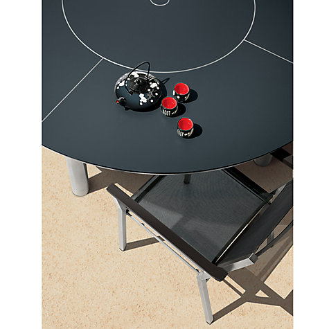Buy Barlow Tyrie Equinox Round 6 Seater Outdoor Dining Table with Lazy Susan Online at johnlewis.com