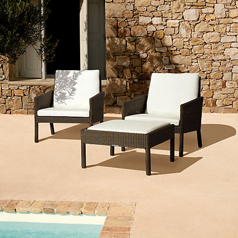 Buy Barlow Tyrie Nevada Outdoor Ottoman Online at johnlewis.com