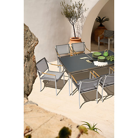 Buy Barlow Tyrie Quattro Rectangular 8 Seater Outdoor Dining Table Online at johnlewis.com