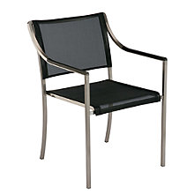Buy Barlow Tyrie Quattro Outdoor Armchairs, Graphite Online at johnlewis.com