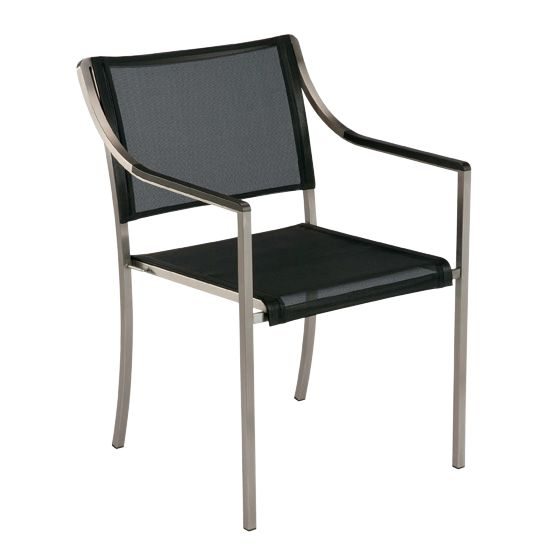 Barlow Tyrie Quattro Outdoor Armchair, Graphite, Graphite/Charcoal