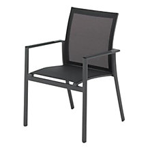 Buy Gloster Azore Stacking Chair with Arms Online at johnlewis.com