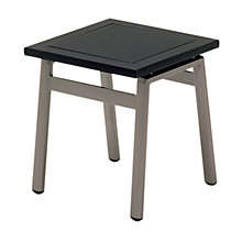 Buy Gloster Azore Square Outdoor Tables, Glass Top, 40 x 40cm Online at johnlewis.com