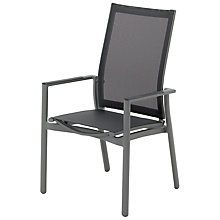 Buy Gloster Azore Outdoor Stacking Reclining Chair Online at johnlewis.com