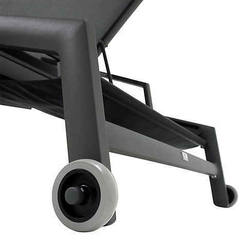 Buy Gloster Azore Lounger Wheels Online at johnlewis.com