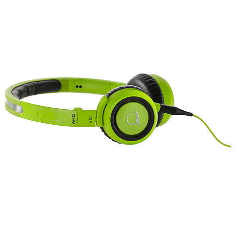 Buy AKG Q460 Quincy Jones Signature On-Ear Headphones, Green Online at johnlewis.com