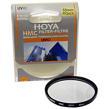 Buy Hoya UV Lens Filter, 55mm Online at johnlewis.com