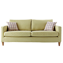 Buy John Lewis Bailey Large Sofa Cover, Sanderson Musette Online at johnlewis.com