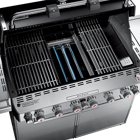Buy Weber S670 6-Burner Gas Barbecue Online at johnlewis.com