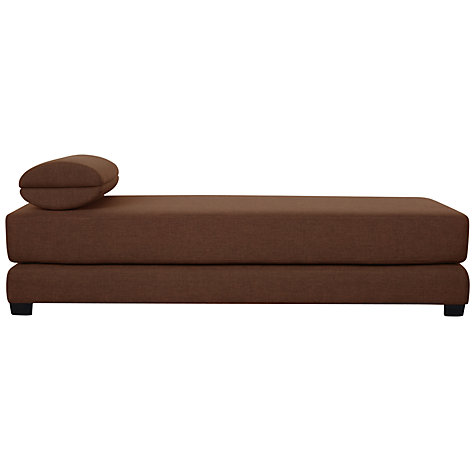 Buy John Lewis Sonoma Daybed, Oslo / Dark Leg Online at johnlewis.com
