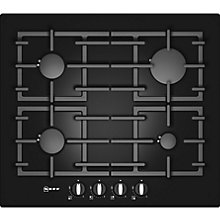 Buy Neff T62S26 Gas Hob, Black Online at johnlewis.com