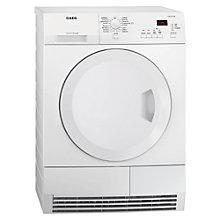 Buy AEG Lavatherm T65270AC Condenser Tumble Dryer, 7kg Load, B Energy Rating, White Online at johnlewis.com