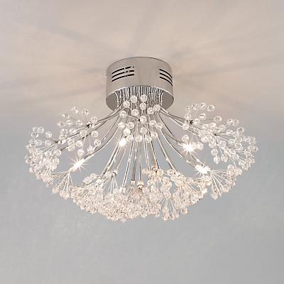 John Lewis Blossom Ceiling Light, 6 Arm